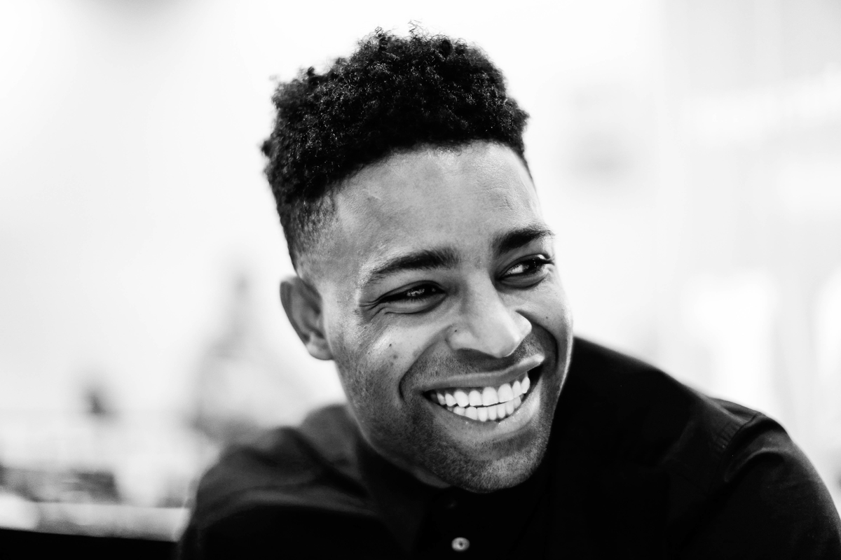 Michael Crabtree of the Oakland Raiders is all smiles