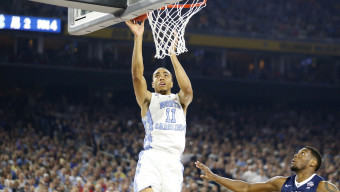 Brice Johnson as Villanova takes on North Carolina on April 4, 2016 during the NCAA National Championship game at the at NRG Stadium in Houston, Tx. (Photo by Jed Jacobsohn for the Players' Tribune)