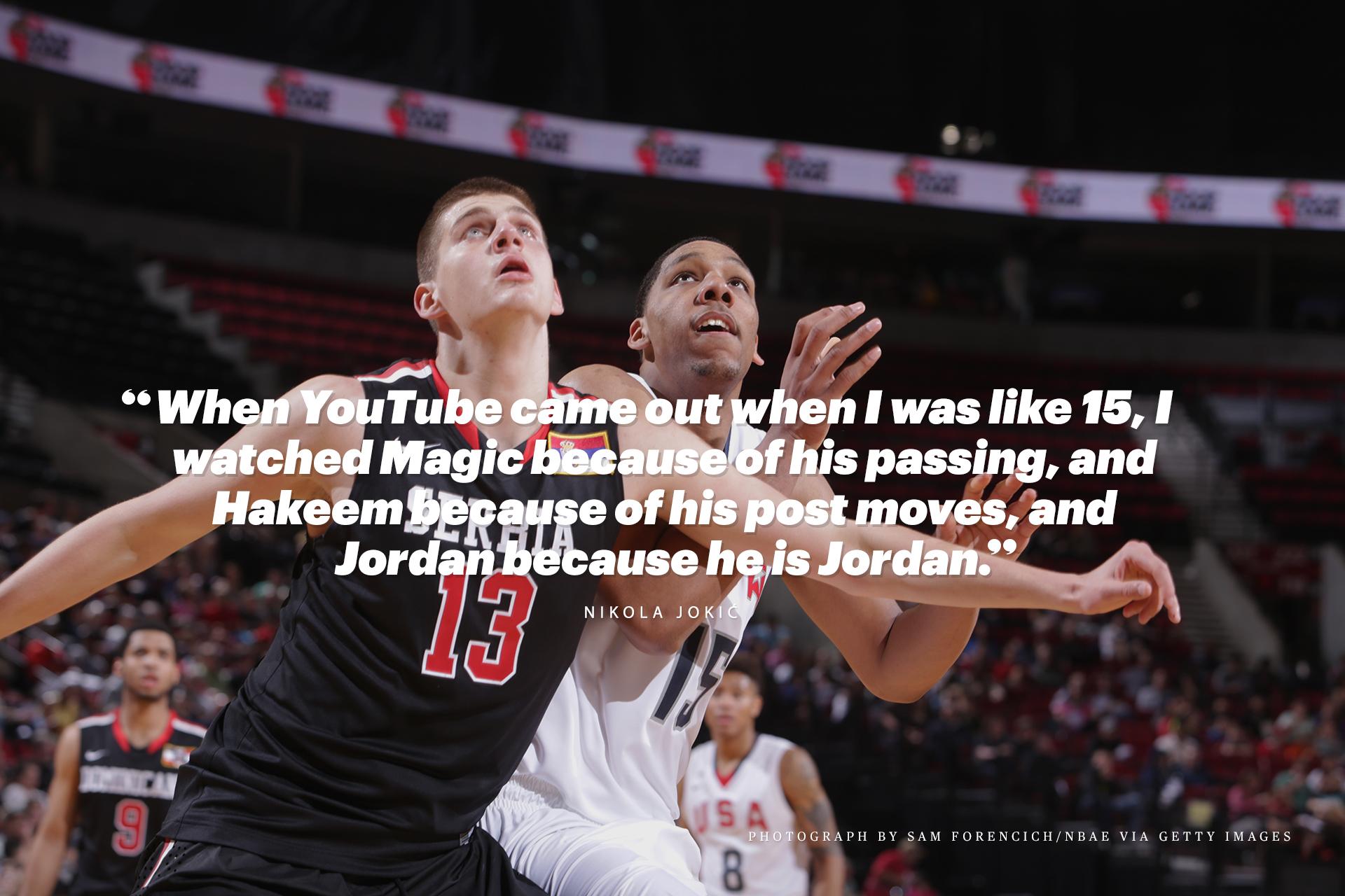 Jokic Jordan Pull