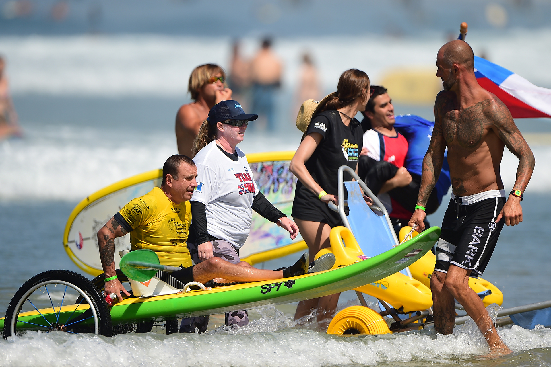 2015 ISA World Adaptive Surfing Championship