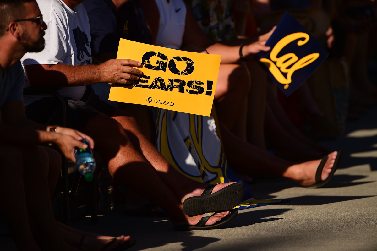 Cal Bears fans made the trip from Northern California