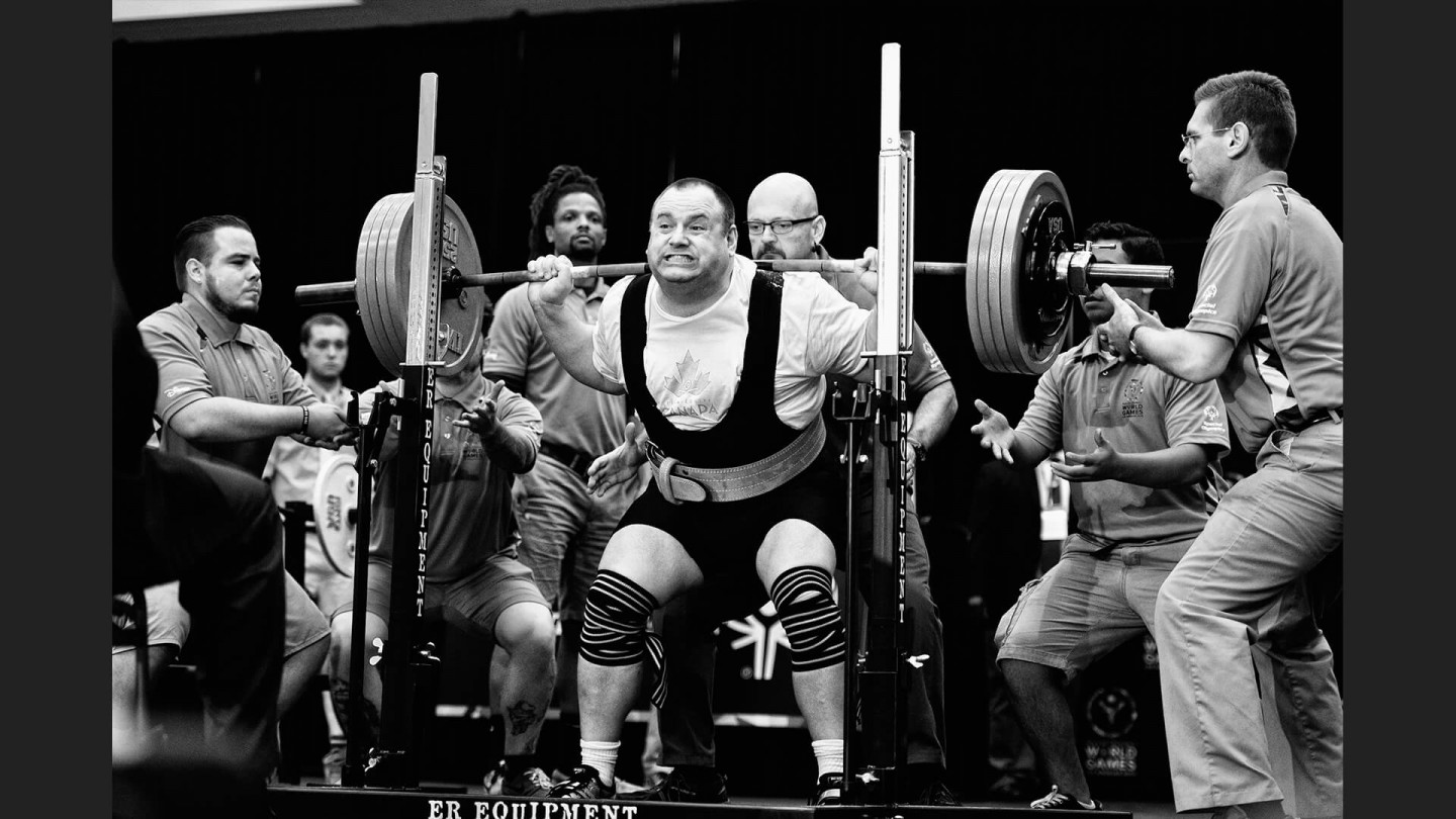 Powerlifting on August 1, 2015 at the Los Angeles Convention Center, Los Angeles, CA.