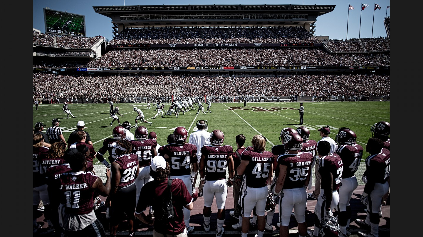 In front of another six-figure crowd, the Aggies take on Nevada.