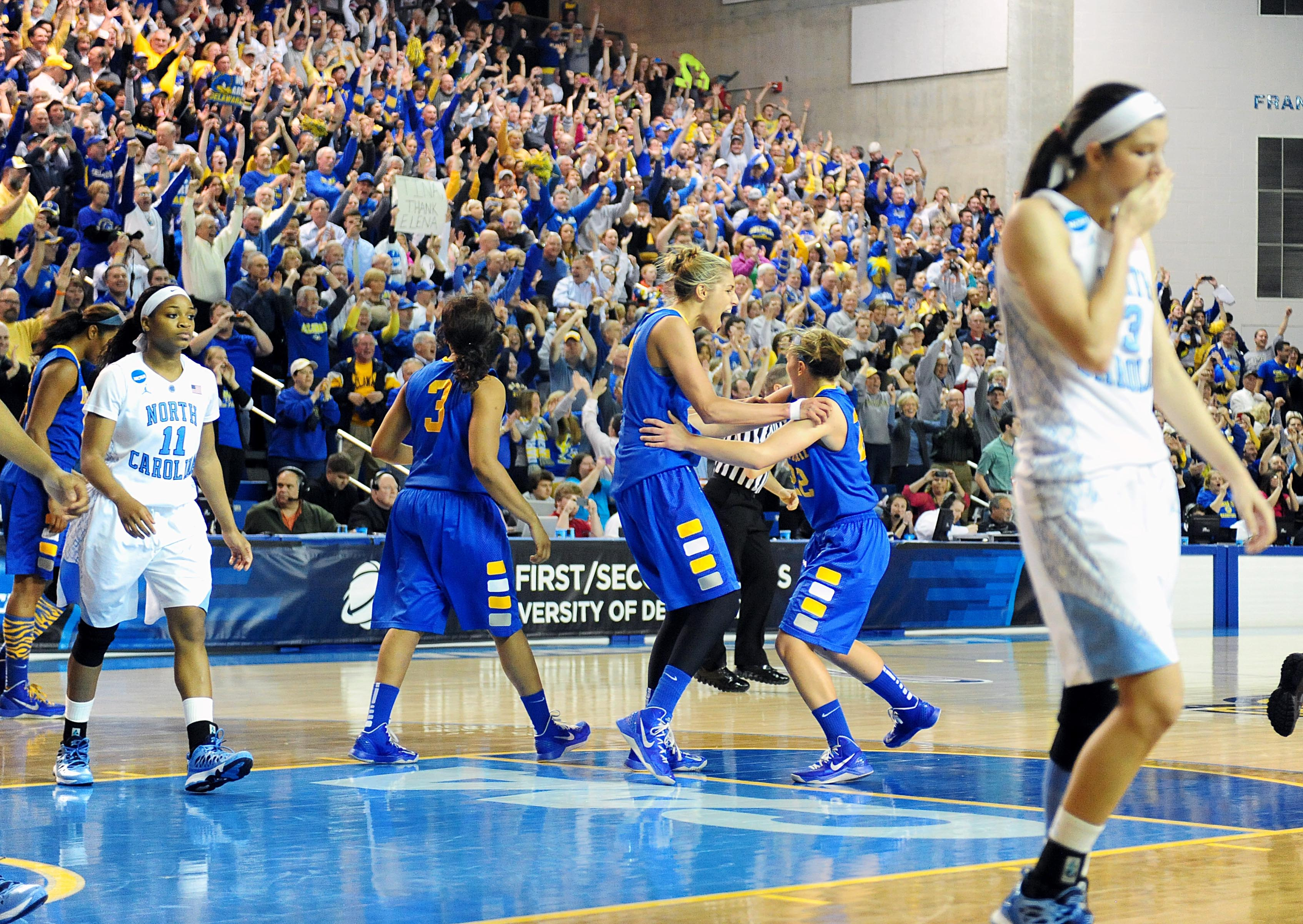 NCAA Womens Basketball: NCAA Tournament-Delaware vs North Carolina