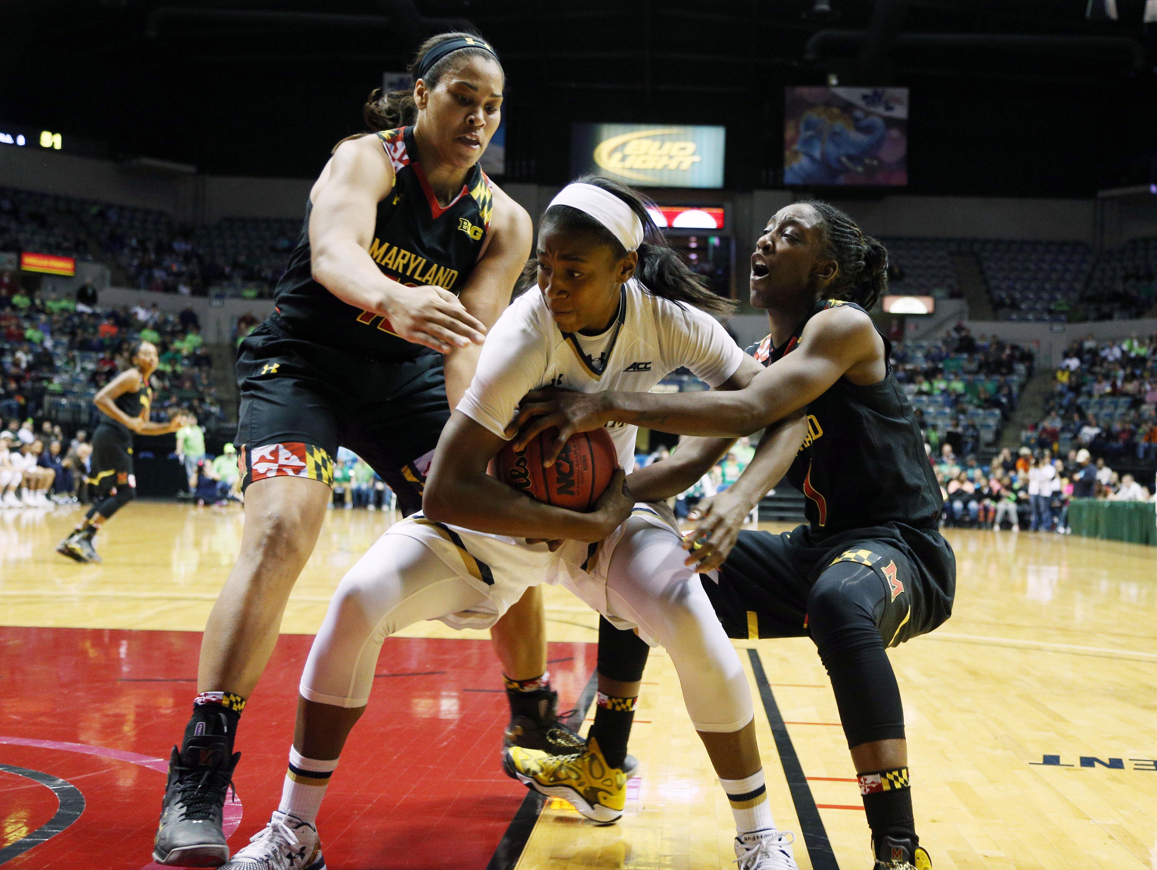 NCAA Womens Basketball: Maryland vs Notre Dame