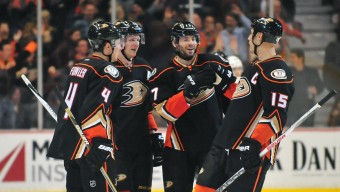NHL: Los Angeles Kings at Anaheim Ducks