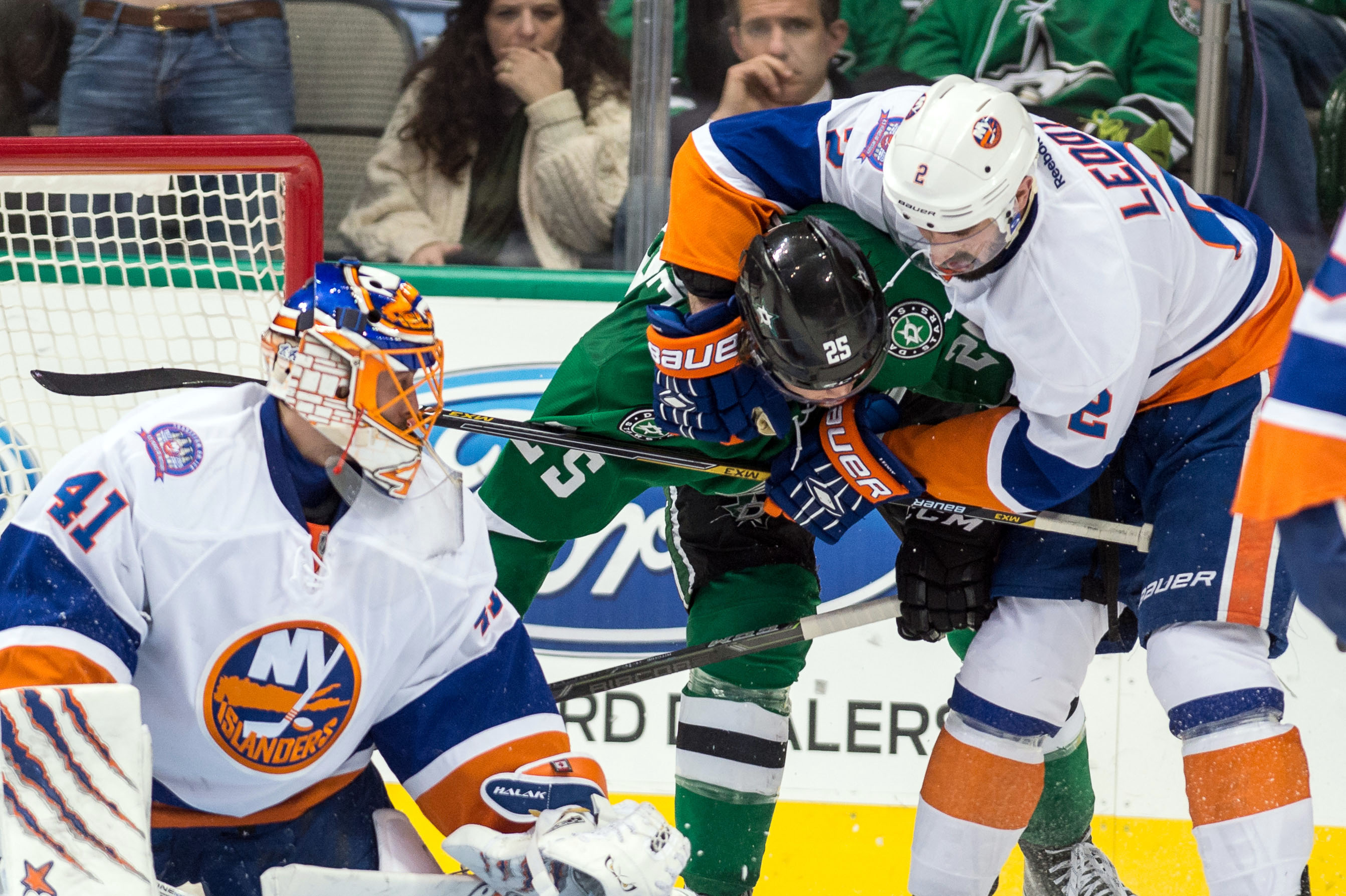 NHL: New York Islanders at Dallas Stars