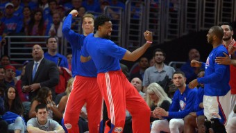 NBA: Playoffs-Houston Rockets at Los Angeles Clippers