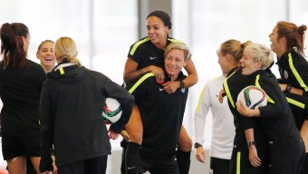 Soccer: Women's World Cup-Training USA