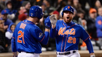 MLB: NLCS-Chicago Cubs at New York Mets