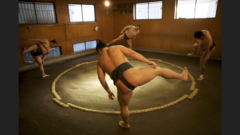 Sumo practice | Tokyo, Japan