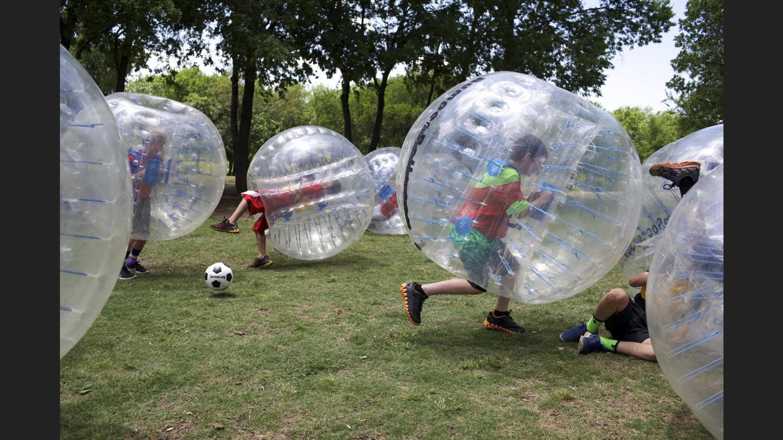 Bubble soccer | Rockwall, Texas