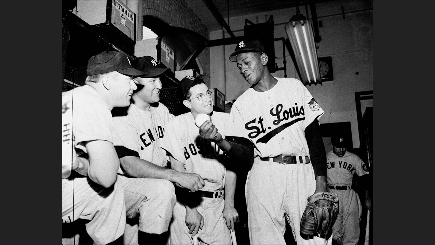 "Leroy ""Satchel"" Paige became a first-time All-Star at age 46 at Philadelphia's Shibe Park on July 8, 1952."