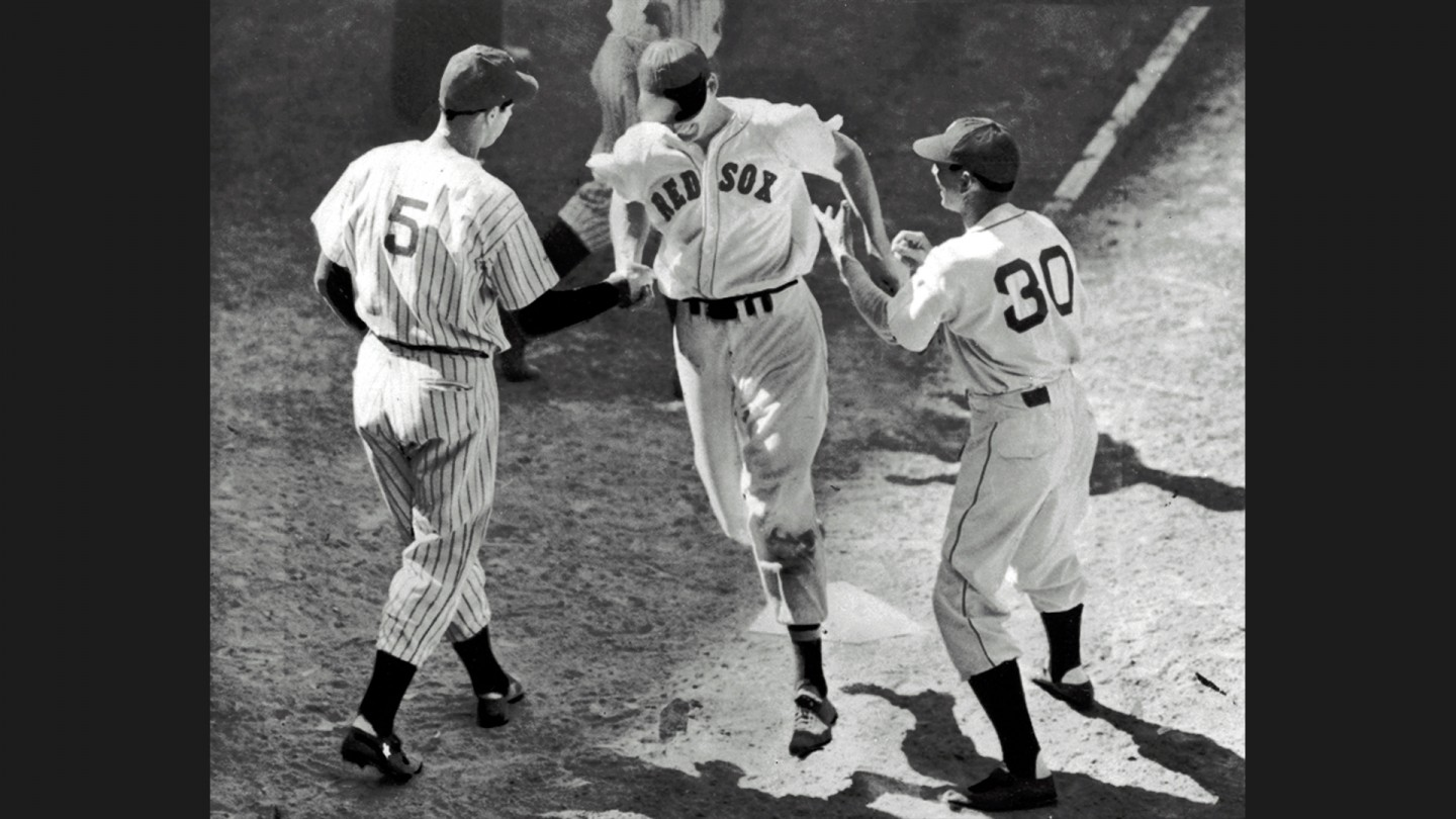 In 1941, Ted Williams had the first walk-off hit in an All-Star game with a ninth-inning homer.