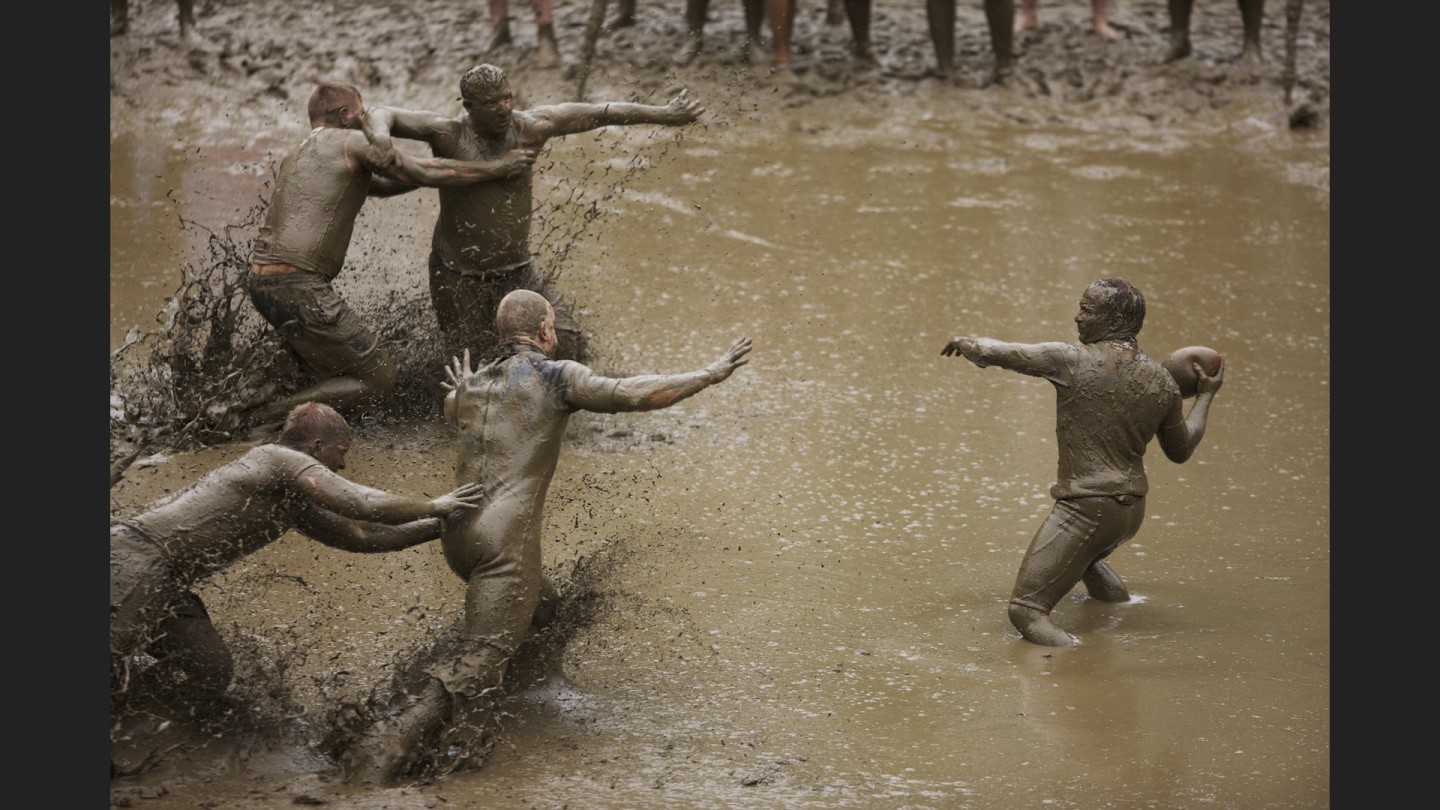 Annual Mud Bowl held at Hog Coliseum | North Conway, New Hampshire