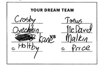 Your dream team