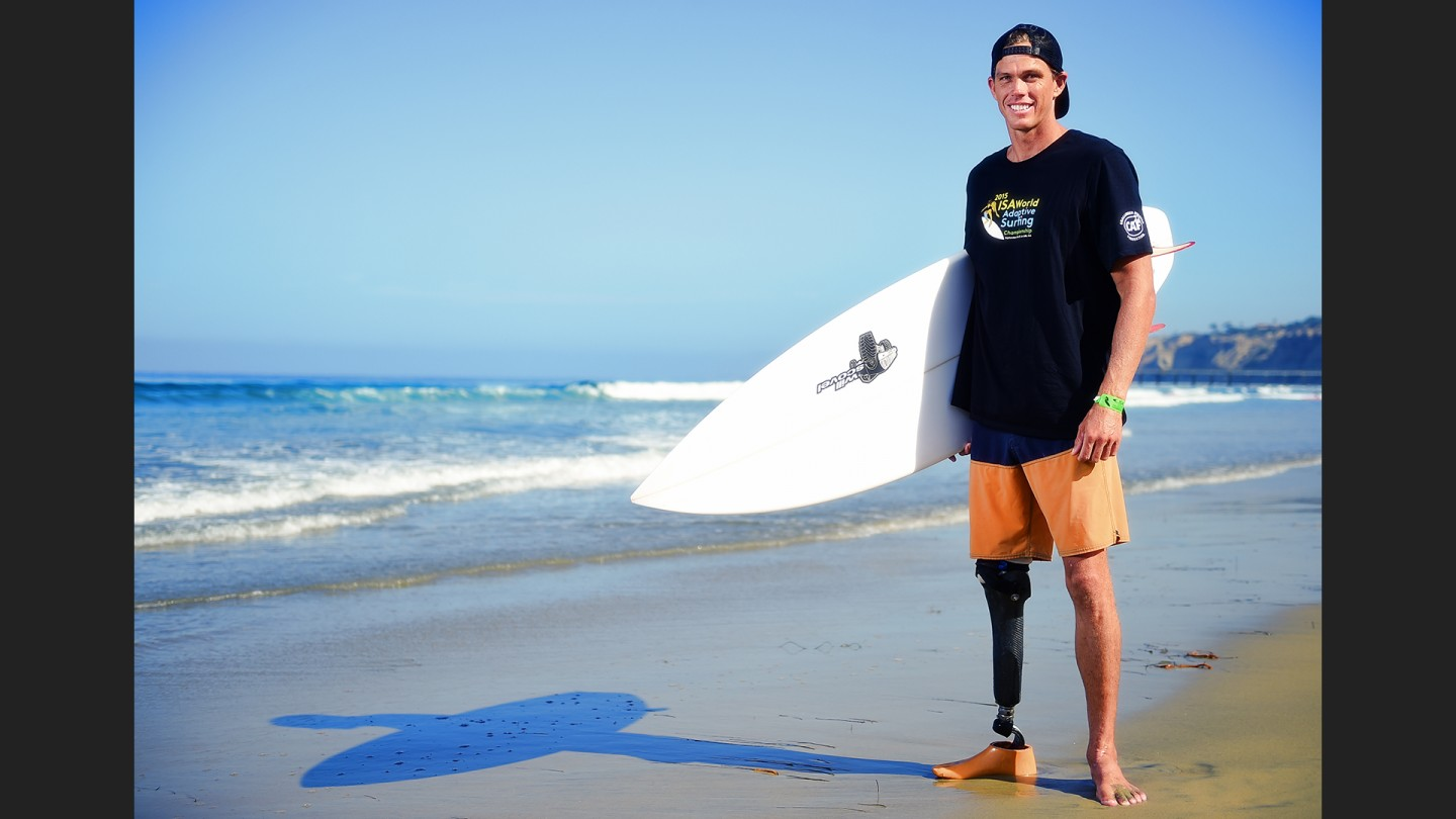 Hawaiian Mike Coots lost his leg during a shark attack when he was 18.  Today, Coots splits his time between his old passion, surfing, and two new ones: photography and shark conservation.