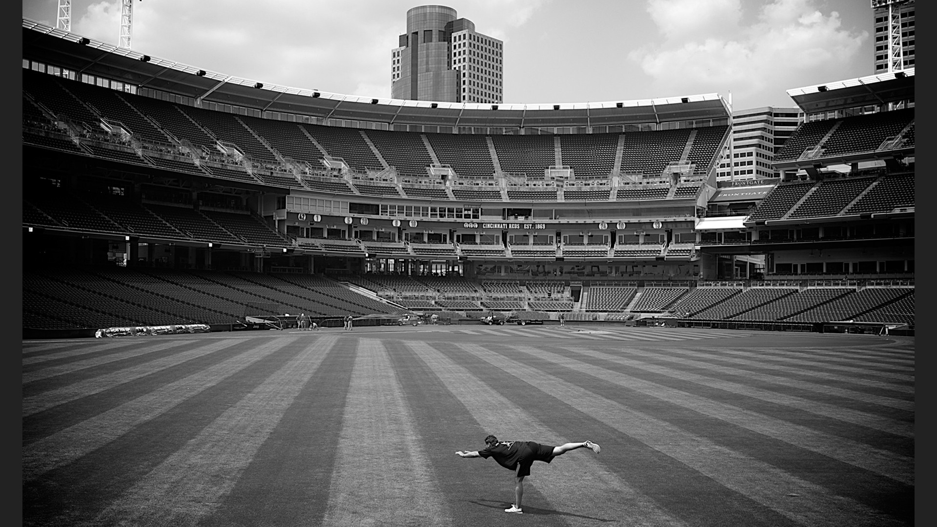 The Great American Ballpark.