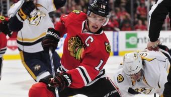 NHL: Stanley Cup Playoffs-Nashville Predators at Chicago Blackhawks