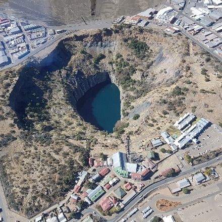 The Big Hole in Kimberley