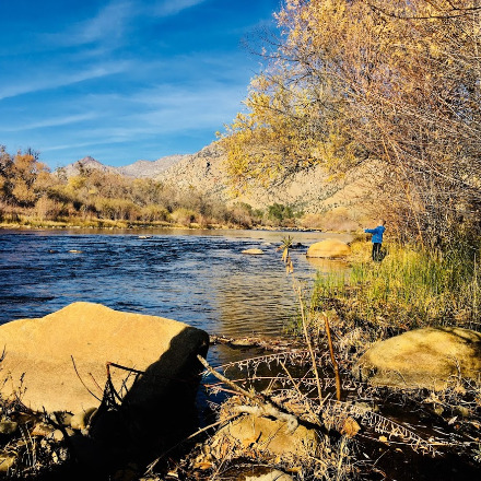 Fishing in the Kern River
