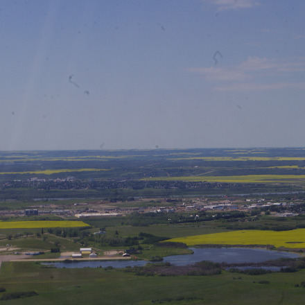 Departing North Battleford.