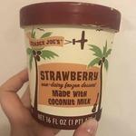 Strawberry_non-dairy_frozen_dessert