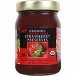 Organic_reduced_sugar_strawberry_preserves