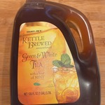 Kettle_brewed_unsweetened_green___white_tea_with_a_hint_of_mint