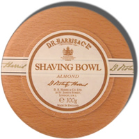 D.R. Harris Almond Shaving Soap with Beech Bowl 100g