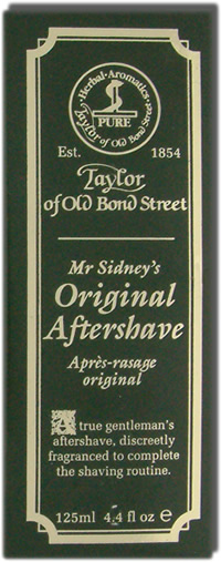 Taylor of Old Bond Street Mr. Sidneys Original Aftershave 125ml