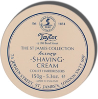 Taylor of Old Bond Street St. James Collection Shaving Cream Bowl 150g