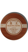 D.R. Harris Almond Shaving Soap with Mahogany Bowl 100g