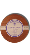 D.R. Harris Lavender Shaving Soap with Mahogany Bowl 100g
