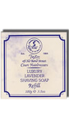 Taylor of Old Bond Street Lavender Wooden Bowl and Hard Shaving Soap 100g