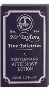 Taylor of Old Bond Street Mr. Taylors Aftershave Lotion 100ml
