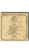 Taylor of Old Bond Street Sandalwood Hard Shaving Soap Refill 100g