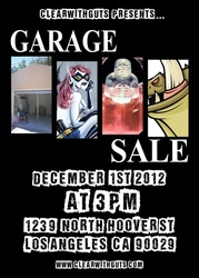 Event: ClearwithGuts Garage Sale