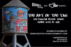Event: The Art of the Tag : Custom Water Tower Group Exhibition