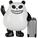 Panda-a-panda-trampt-6537f
