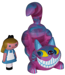 Platform: Cheshire Cat and Alice