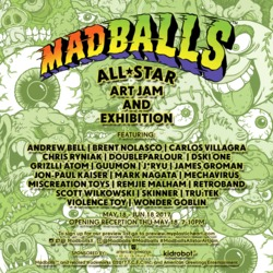 Event: Madballs All-Star Art Jam