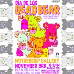 Event: Dia De Los Dead Bear