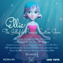 Event: Ellie The Jellyfish Princess Custom Show