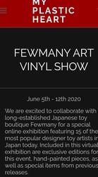 Event: Fewmany Art Vinyl Show