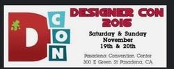 Event: DCon (Designer Con) : 2016