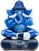Ganesh - Blue
