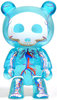 "Skelanimals Qee 2.5"" - Glacier Blue"