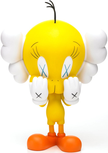 Tweety_-_yellow-kaws-tweety-medicom_toy-trampt-3260m