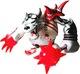 Da Fighter Lupus - Grey/Red
